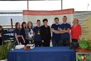 Targi cieszyły się dużym zainteresowaniem wśród młodzieży i nauczycieli / fot. Zespół Szkół Chemicznych w Bydgoszczy.